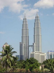 Petronas Towers - Barrettes