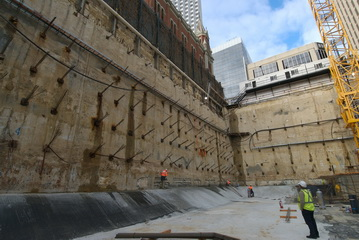 100 St Georges Terrace - Diaphragm Walls